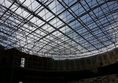 steel space frame