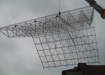 space frame installation