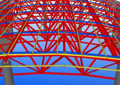 analysis design and construction of steel space frames