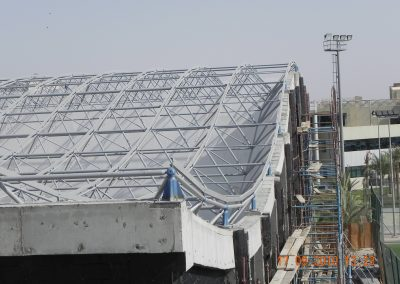 space frame construction system