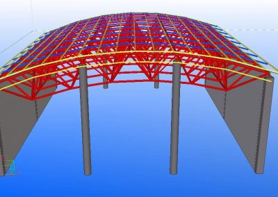 design of space frame structure