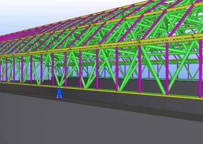 space frame drawing