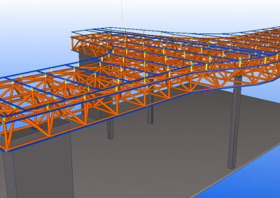 space frame construction drawings