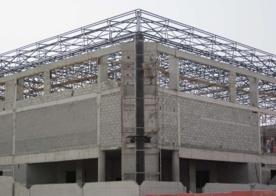 space frame structures aluminium cladding