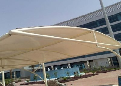 tensile car fabric structures