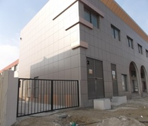 STEEL STRUCTURE & CLADDING FOR WAREHOUSE AND OFFICE BUILDING